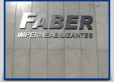 Faber Tecnologia - Impermeabilizantes