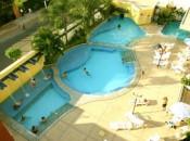 Thermas de Caldas. Caldas Novas-GO - Impermeabilização de piscina e lajes externas