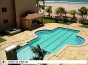 Oceania Resort. Fortaleza-CE. Impermeabilização de piscina