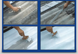 Isolante termico para telhado de amianto