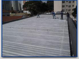 Isolante térmico para telhas
